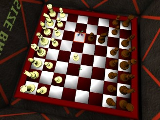 Sample of chess rendering on FPS platform